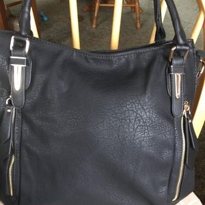 Handbags - , Black, is a no name brand. Handbag